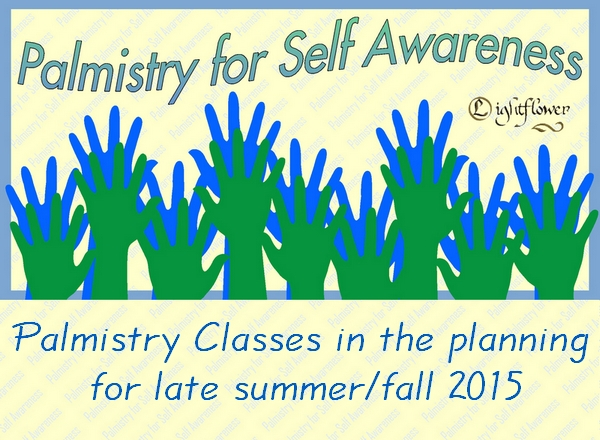 Palmistry Classes - Learn to Read Hands - Patti Lightflower